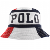 Product Image for Ralph Lauren Loft Bucket Hat White